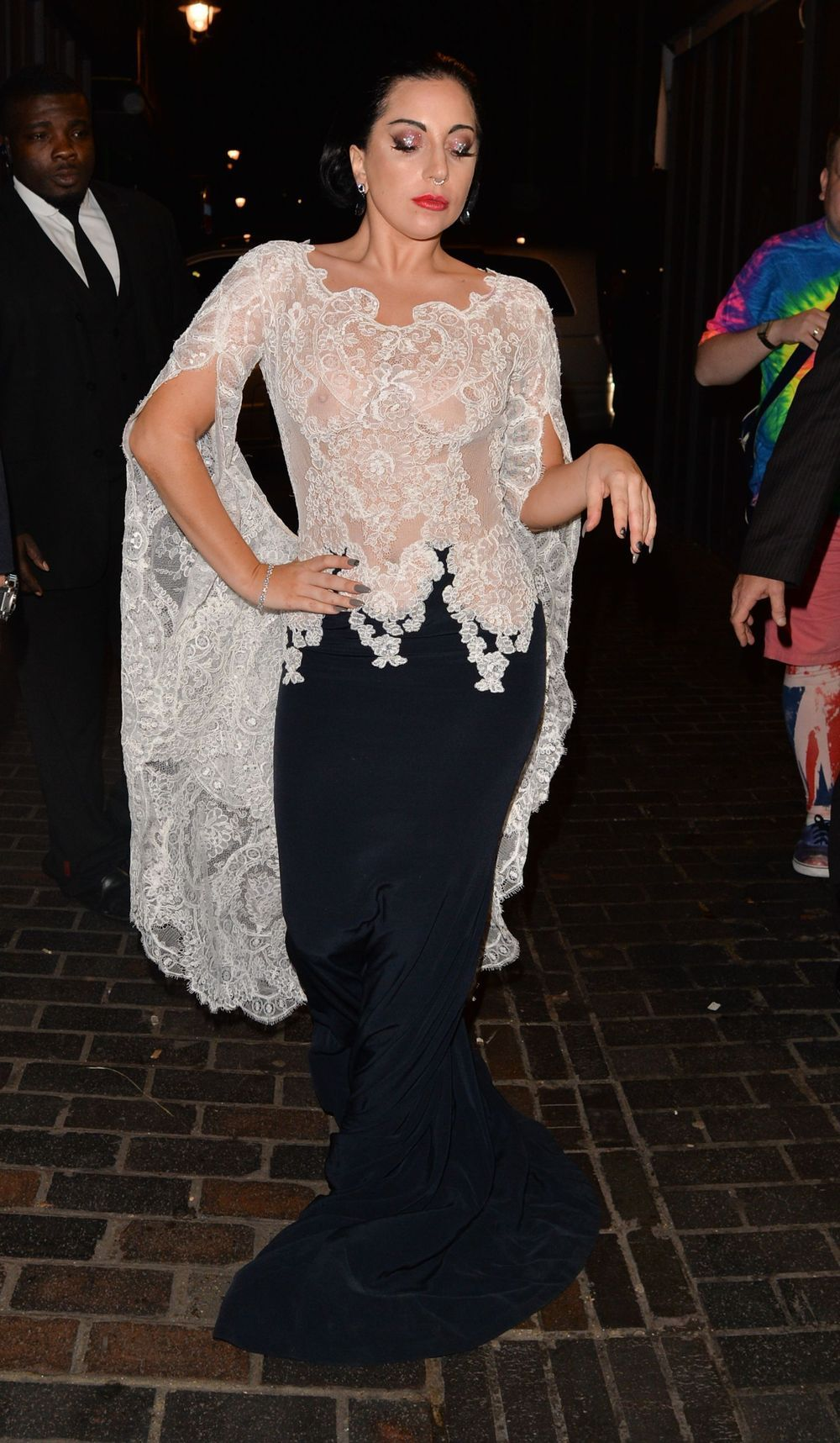 Lady Gaga - 23 Oct - From a gothic Gaga to a blooming Kate Middleton; it's the week's best dressed | Stylist Magazine