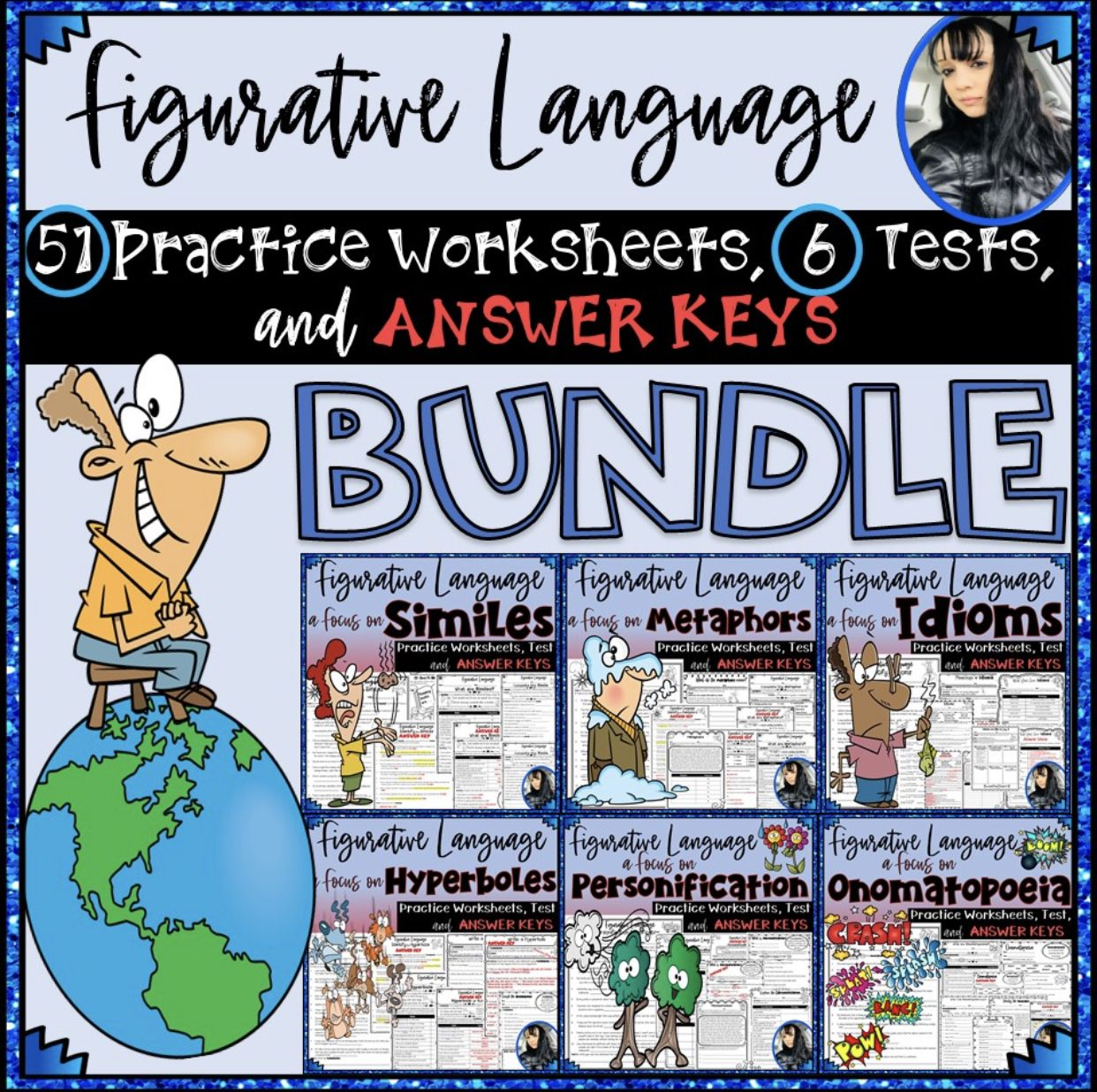 Figurative Language Practice Worksheets Tests And Answer