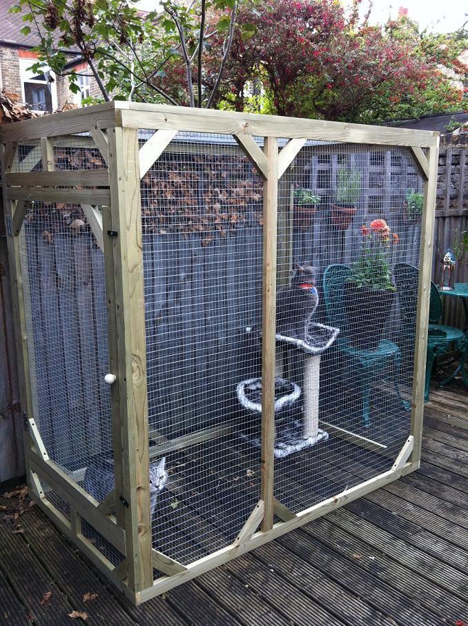 Safepetpens Co Uk Diy Cat Enclosure Outdoor Cat Enclosure Cat Enclosure