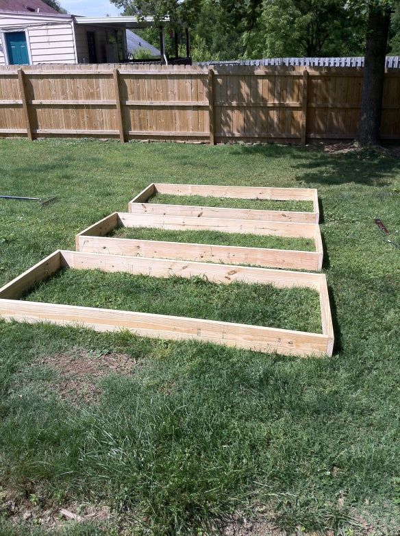how to build a garden bed from scratch