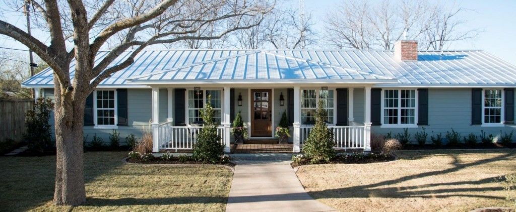 Fixer Upper Ranch House Ranch Style Homes House Exterior
