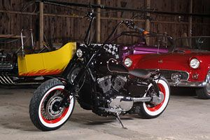 kawasaki vn 1500 bobber rock n roll location motorcycles. Black Bedroom Furniture Sets. Home Design Ideas