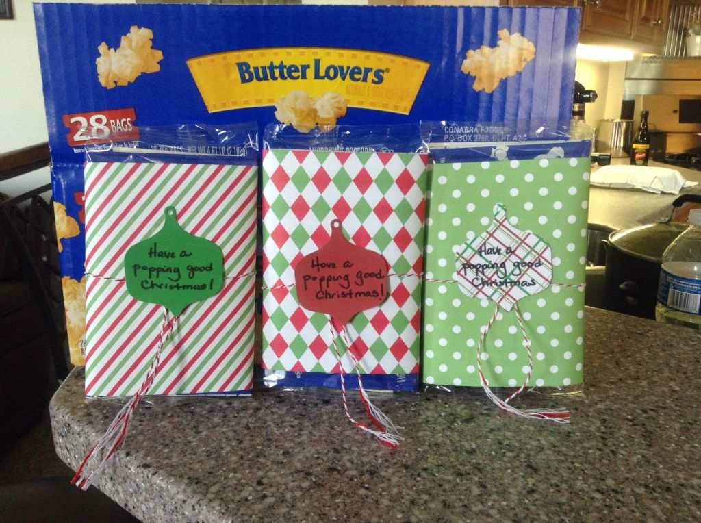 Christmas goodies for my coworkers very inexpensive
