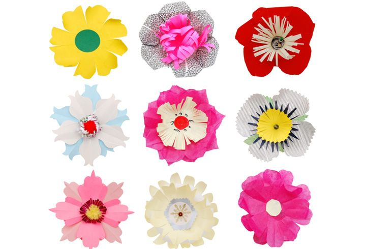 How To Make Paper Flowers Step By Easy For Kids 2 Image Shutterstock Flower