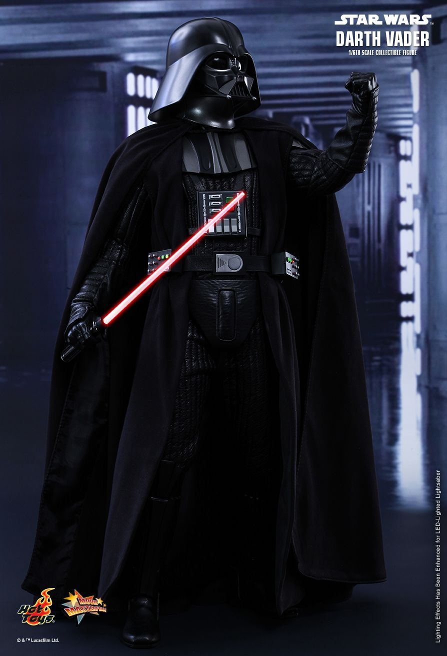 Hot Toys Star Wars Episode Iv A New Hope Darth Vader 1 6th Scale Collectible Figure Star Wars Episode Iv Star Wars Villains Hot Toys