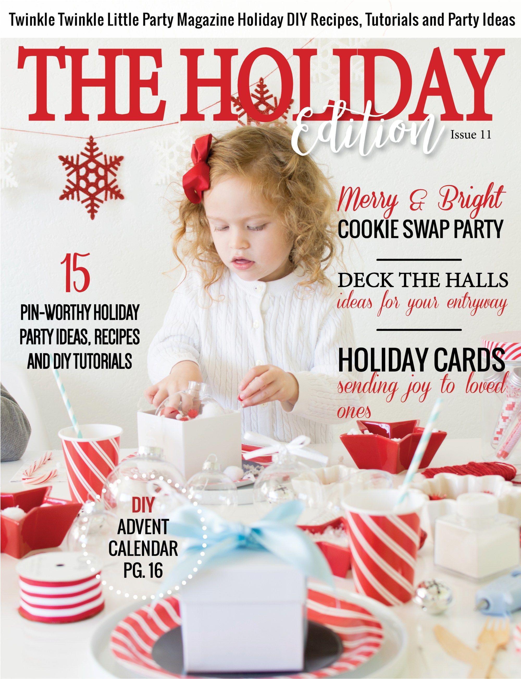 Magazine - Holiday Issue | Pinterest | Twinkle twinkle, Holidays and ...