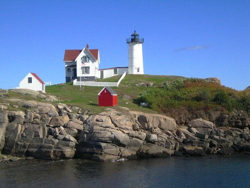 The Nubble. We visit when the Smith's come with us to the beach