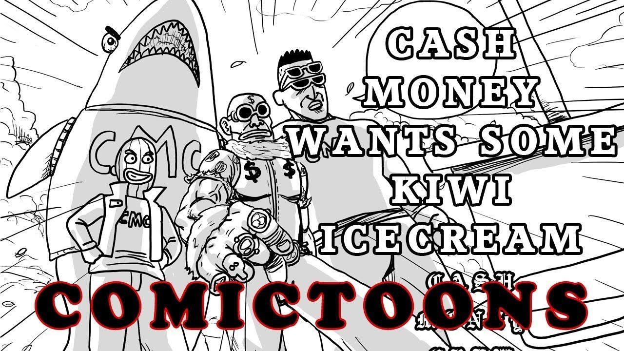 Comictoons1 cash money the bully money cash money cash