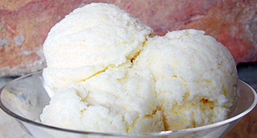 Citromfagylalt recept
