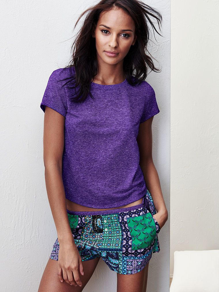 The Mayfair Tee & Short Set Pajamas women, Short sets