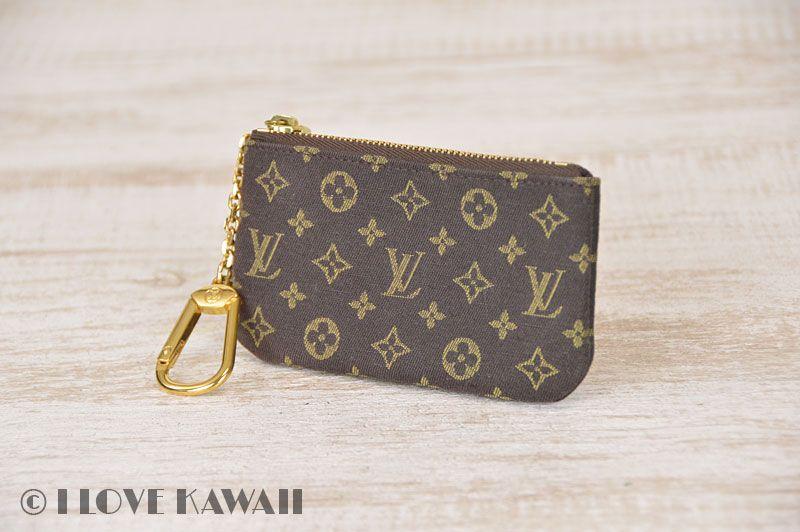 8d79ed4ed5dd Louis Vuitton Monogram Idylle Pochette Clefs Key Ring Holder M62994 ...