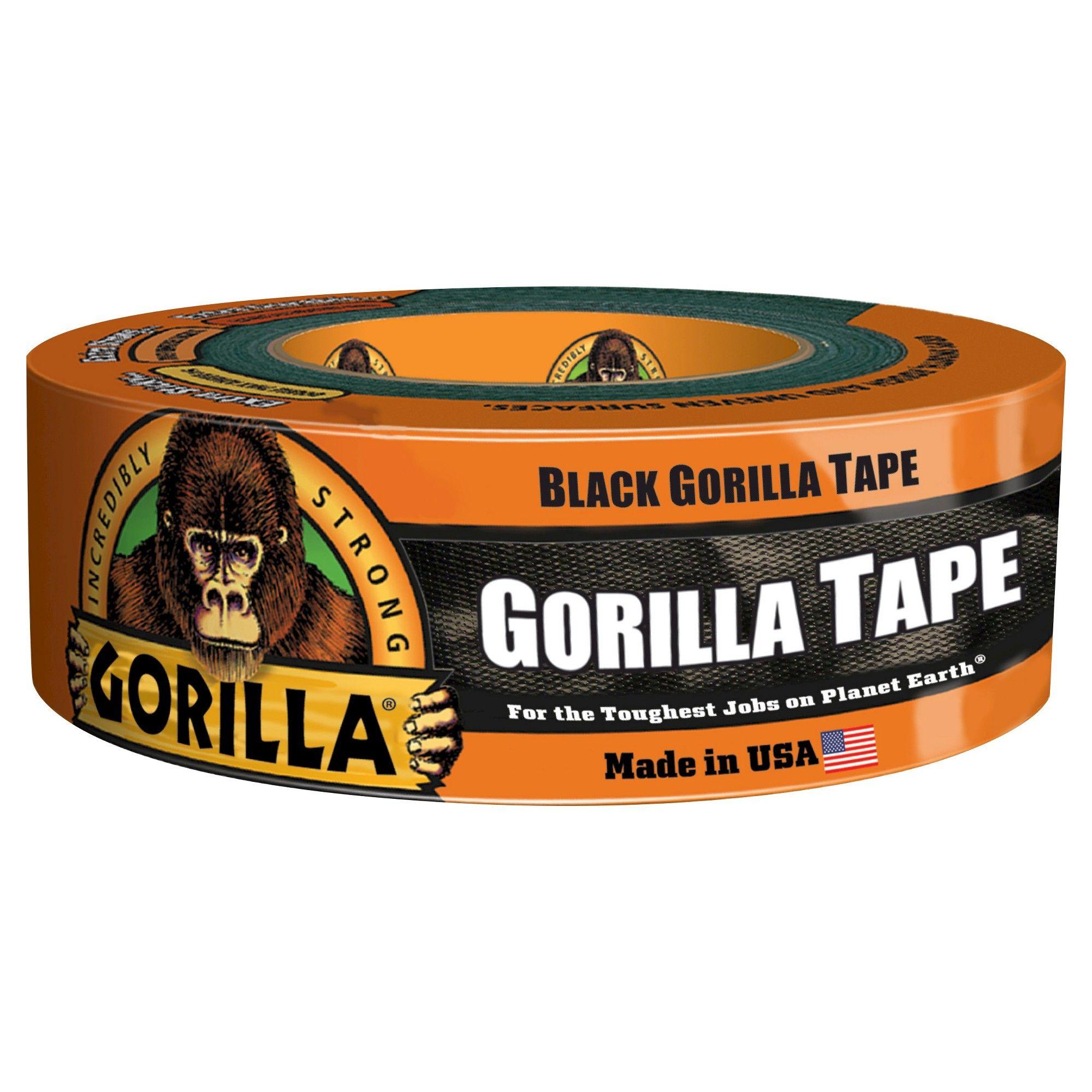 35yd Black Gorilla Tape, Duct Tape Gorilla tape, Tape