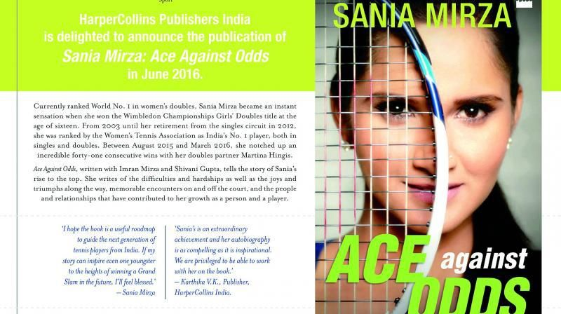 Ace Against Odds Sania mirza autobiography | n | Ebook pdf, Books, Pdf