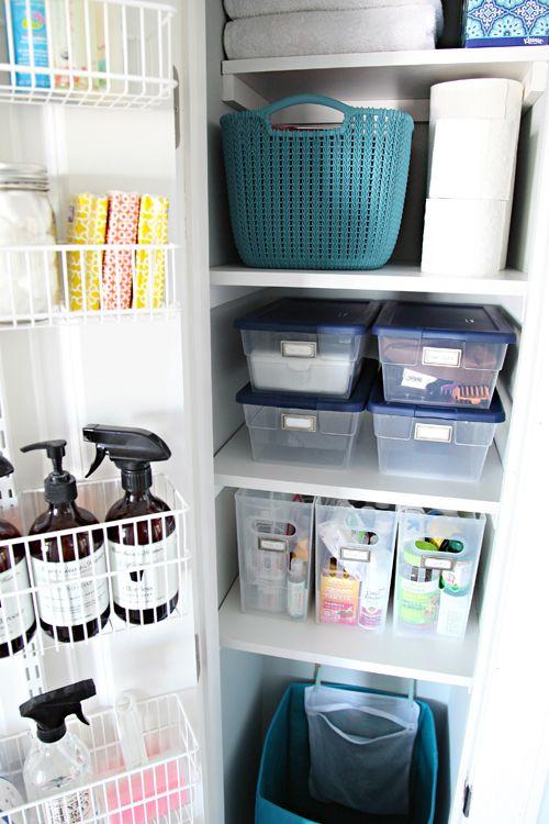 Charming 74 Organized Linen Closet