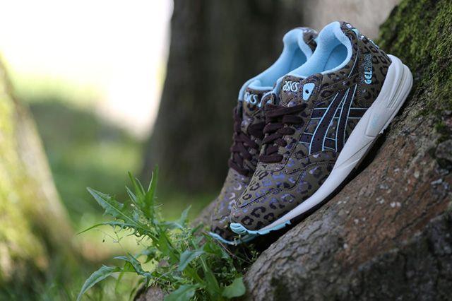 ASICS GEL SAGA (TEAL LEOPARD) - Sneaker