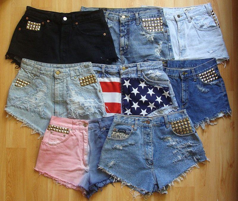 DIY shorts!AWESOME