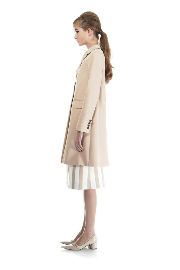 Three Button Coat - Marc Jacobs