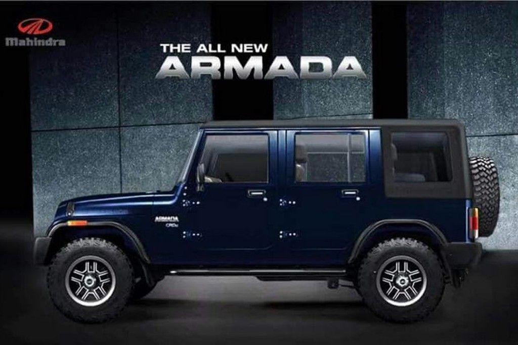 Do You Think Mahindra Should Make The Thar Xl 4 4 In 2017 Mahindra Armada Mahindra Jeep Armada