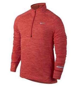 dcc2699092 NWT Nike Dri-FIT Stay Warm Element Sphere Half-Zip Mens Running 852330-