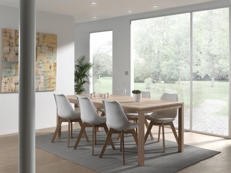 Set De Table London Avec 6 Chaises Korsa Overstock Home Salle A