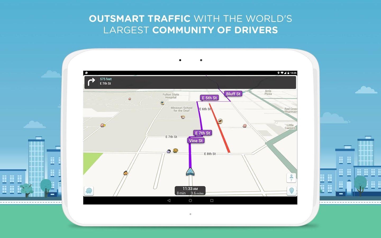 Waze GPS, Maps & Traffic screenshot (Có hình ảnh)