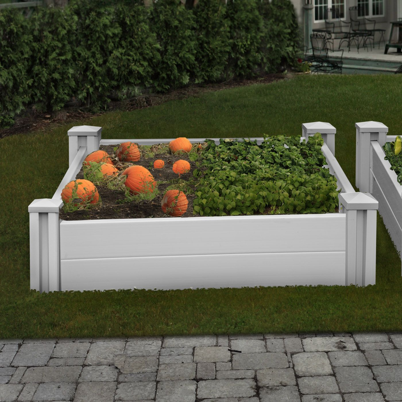Shop New England Arbors VA68228 Sutton Raised Garden Bed At Lowe\u0027s  Canada. Find Our Selection