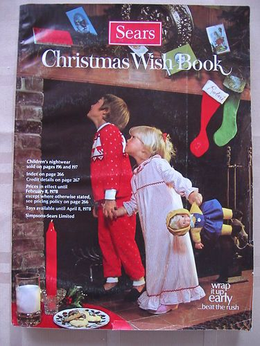 Vintage Sears Canada 1977 Christmas Wish Book I Was 10 Gimme A Marker And I Ll Show You What I Want For Christmas Der Pate Nostalgie Kindheit