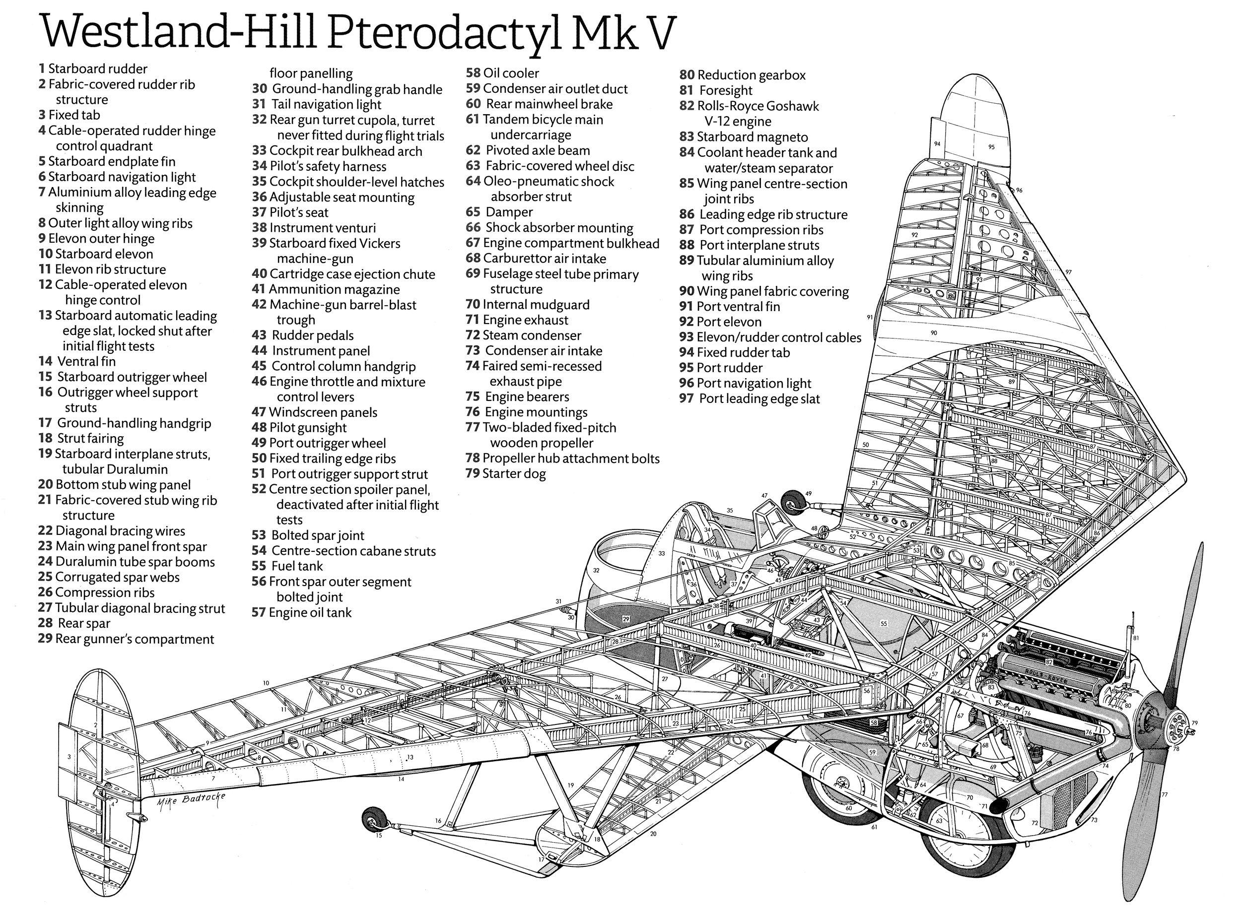 Westland Hill Pterodactyl Mk V