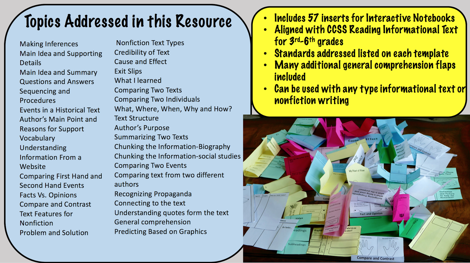 Strategies For Teaching Students To Read Informational