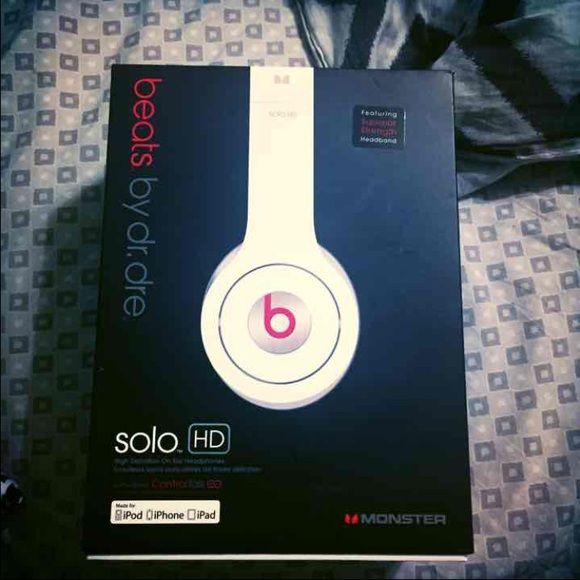 SOLD. Beats Solo HD Used Twice. Works Perfectly. No flaws. All original packaging. Beats by Dr. Dre Accessories