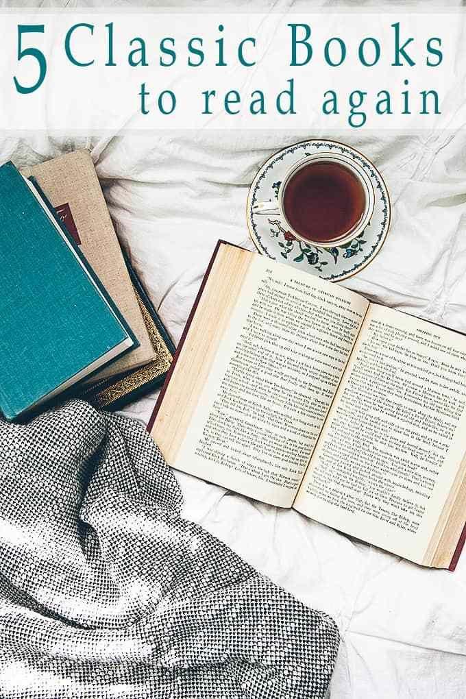 5 Classic Books to Read Again | Classic books, Classic ...