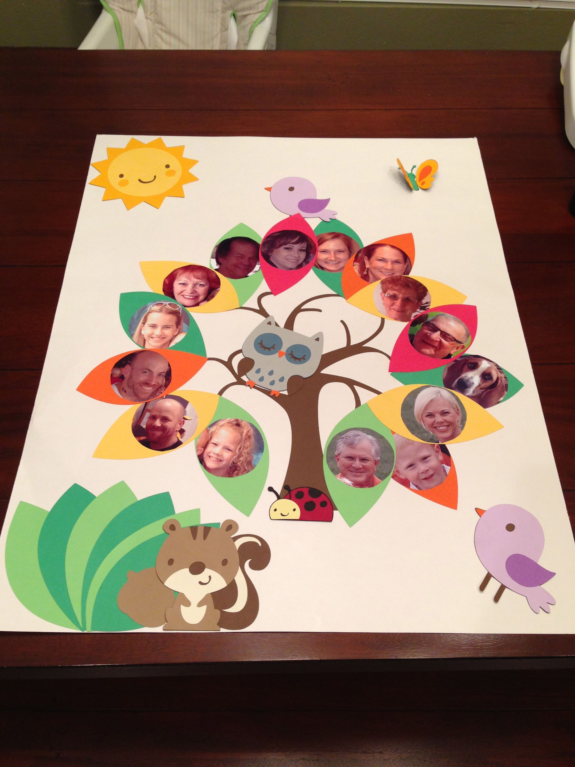 craft ideas for school projects family tree project education family trees 6232