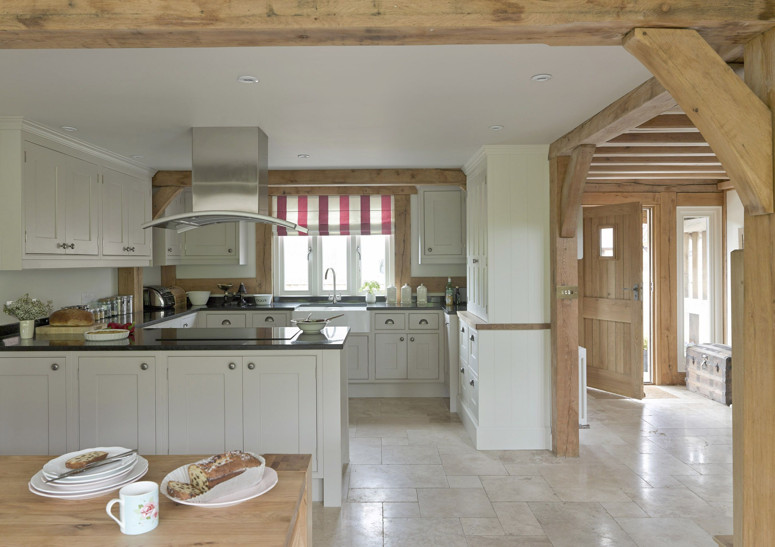 Open Kitchen With Front Door Close By Would Be Nice To Have The
