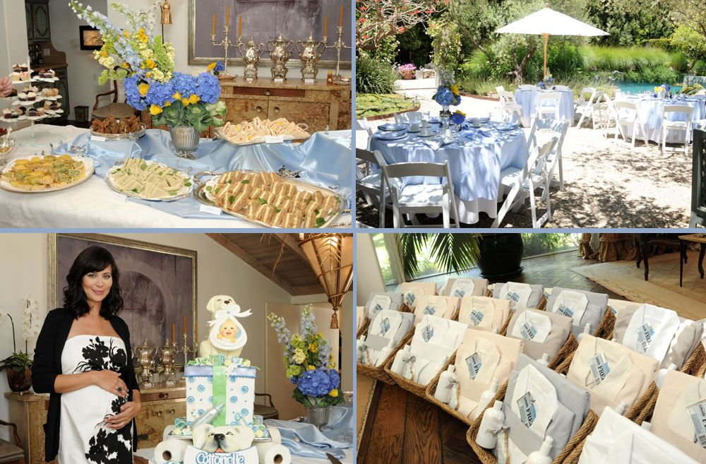 Elegant Photos Celebrity Baby Showers Glamorous Parties For Advance
