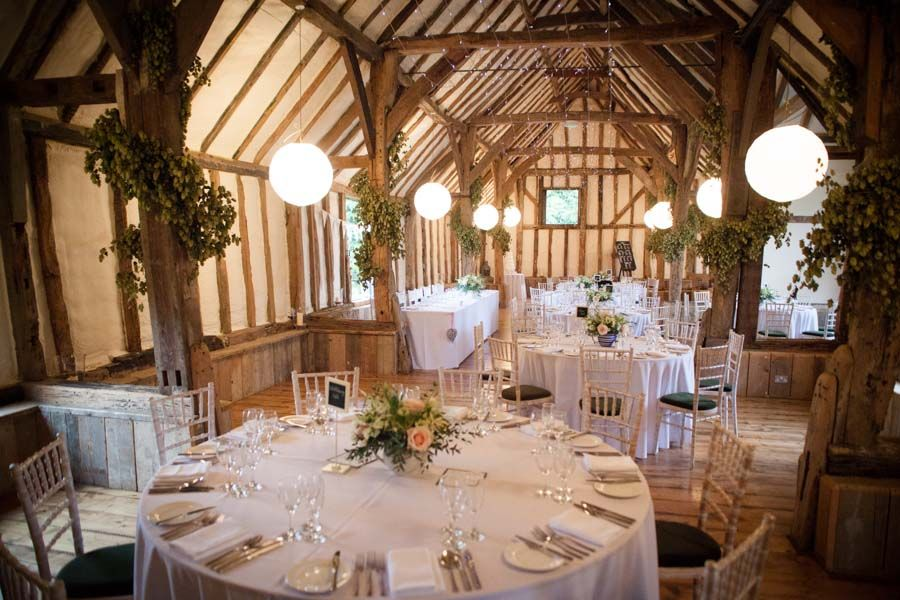 Winters Barns Canterbury Kent Wedding Ideas Winter