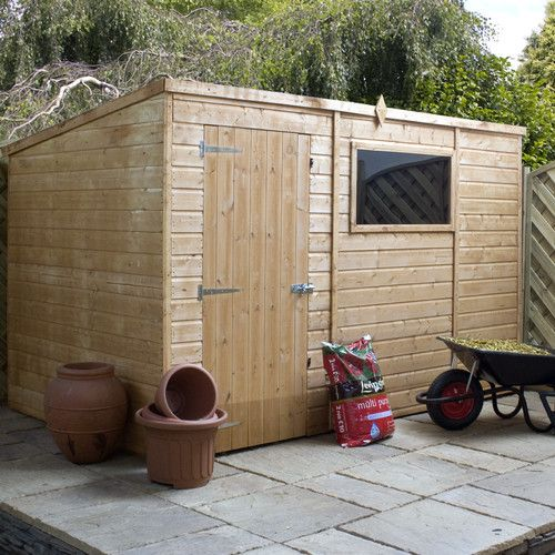 Manor 4 Ft W X 6 Ft D Apex Plastic Tool Shed Shed Garden Sheds Uk Wooden Sheds