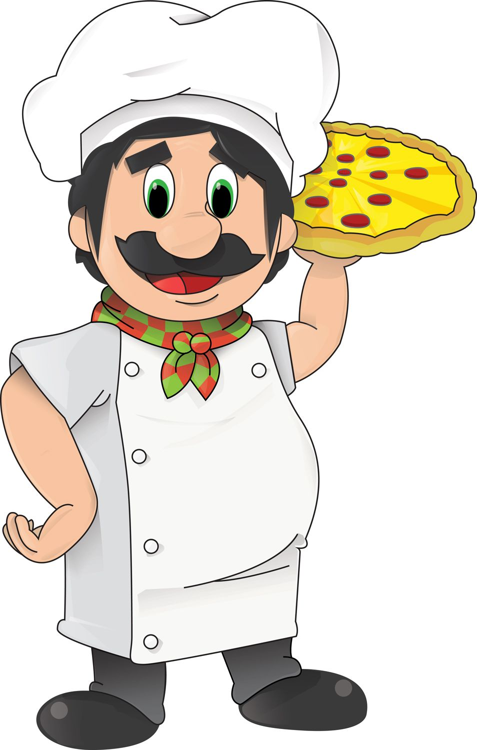 Wood Fired Pizza Clipart Images Gallery Stickman Mario Pizzaiolo Pic Chef 1 Pizzas Rh Com