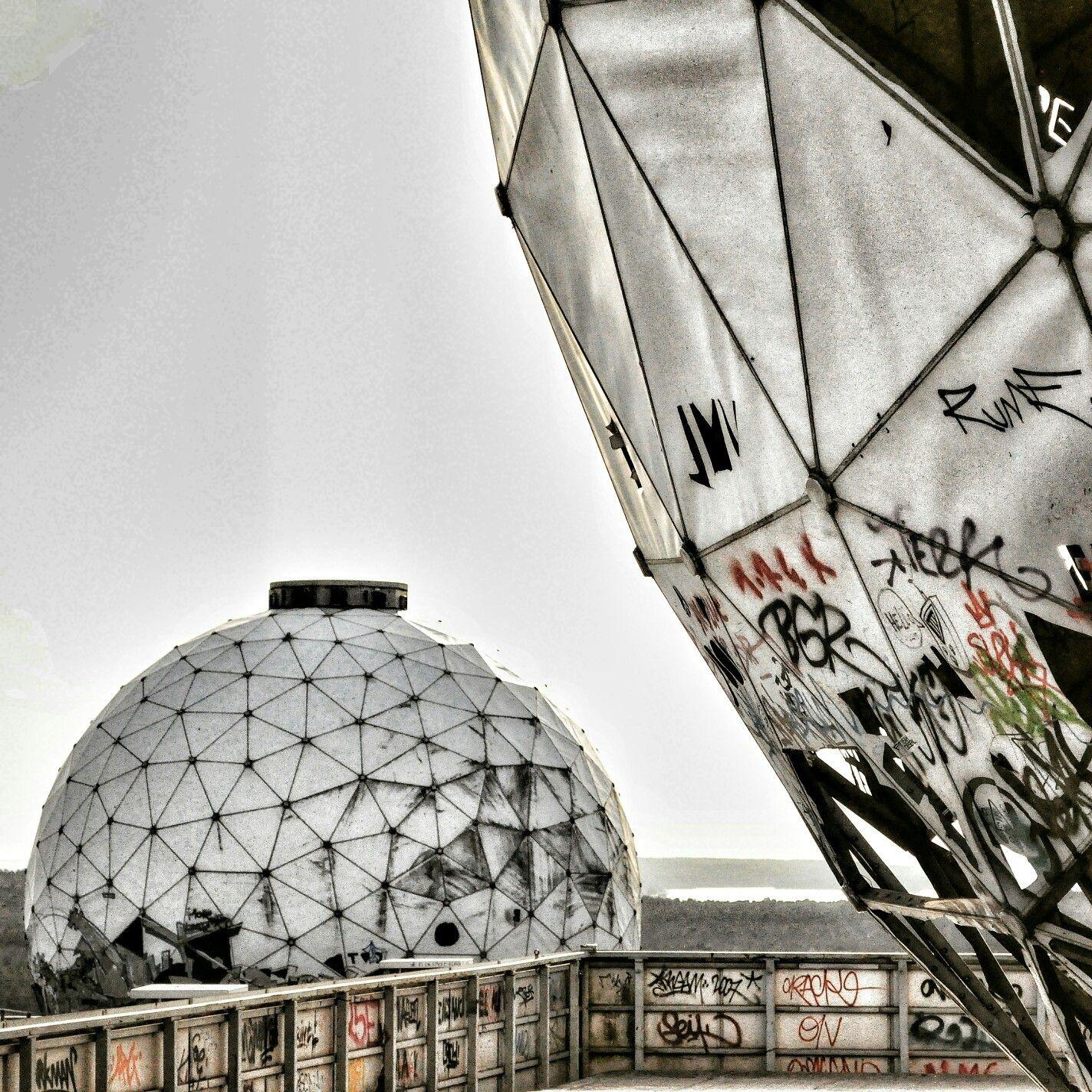 Kugeln der Freiheit? #Berlin #Teufelsberg #Drachenberg #Grunewald #Abhörstation #verlassen #abandoned