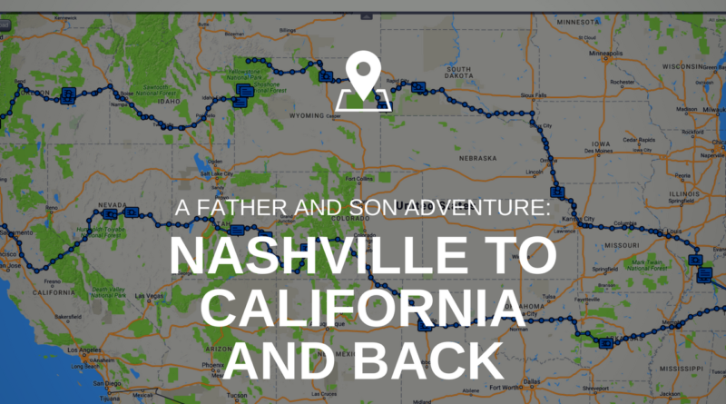 A 2 week father and son motorcycle camping journey. From Nashville Son Tennessee Map on