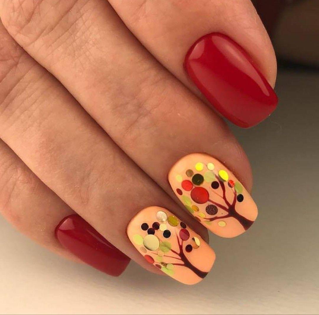 Pin by vera nogina on маникюр   Pinterest   Autumn nails, Manicure ...