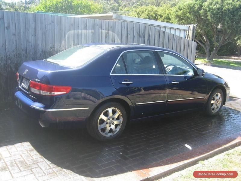 Honda Accord Luxury Sedan Auto Blue Honda Accord