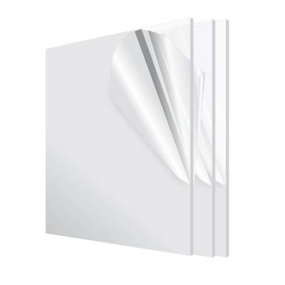Adiroffice 12 In X 12 In X 1 8 In Clear Plexiglass Acrylic Sheet 3 Pack In 2020 Acrylic Sheets Clear Acrylic Sheet Cast Acrylic Sheet