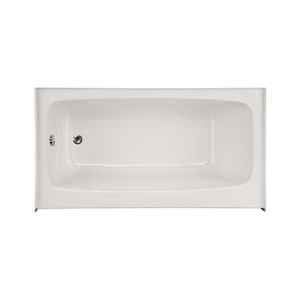 Hydro Systems Trenton 5.5 ft. Left Drain Bathtub in White ...