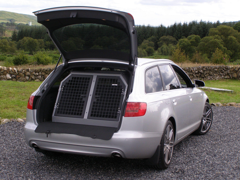 Transk9 B2 Audi A6 Avant Dog Cage Dog Crate Dog Transit Box Www Transk9 Com Audi Pinterest