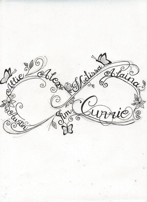 Infinity Symbol Tattoo Google Search Tattoo Ideas Pinterest