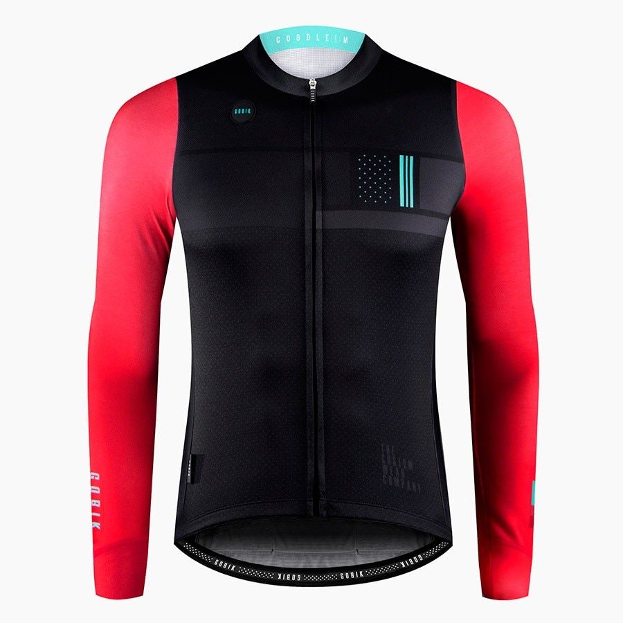 GOBIK 2018 autumn Top Quality Cycling Jersey Long Sleeve MTB Bicycle  Cycling Clothing Mountain Bike Sportswear ddc0b7f42