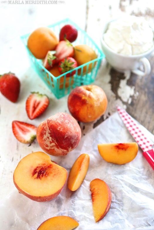 Peach, Strawberry, Apricot Shake   FamilyFreshCooking.com