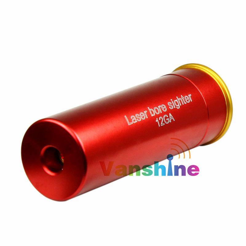 9MM Rouge visée laser Coopper Bore Sighter pour Shotgun Boresighter