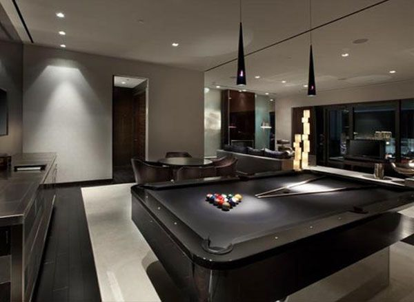 30 Trendy Billiard Room Design Ideas  30Th Room And Game Rooms Glamorous Pool Table Living Room Design Decorating Inspiration