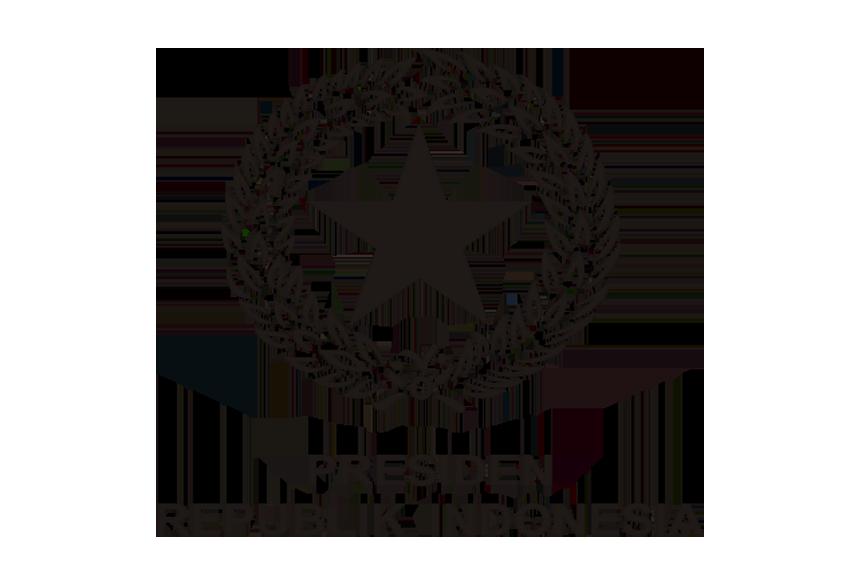 Logo Kabupaten Sanggau Hitam Putih